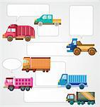 truck card Stock Photo - Royalty-Free, Artist: notkoo2008                    , Code: 400-05742583