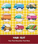 truck card Stock Photo - Royalty-Free, Artist: notkoo2008                    , Code: 400-05742584