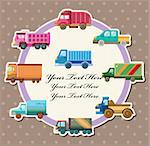 truck card Stock Photo - Royalty-Free, Artist: notkoo2008                    , Code: 400-05742585