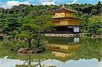 Famous Golden Pavilion Kinkaku-ji in Kyoto Japan and its surrounding beautiful park. Stock Photo - Royalty-Free, Artist: Fyletto                       , Code: 400-05743527