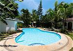 swimming pool in a tropical surroundings Stock Photo - Royalty-Free, Artist: hansenn                       , Code: 400-05743805