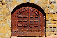 Close-up Image Of Wooden Ancient Italian Door Stock Photo - Royalty-Freenull, Code: 400-05745217