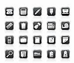 Simple Office tools Icons vector icon set 3 Stock Photo - Royalty-Free, Artist: stoyanh                       , Code: 400-05745601