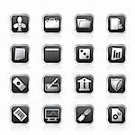 Business and Office Icons - Vector Icon Set 2 Stock Photo - Royalty-Free, Artist: stoyanh                       , Code: 400-05745630