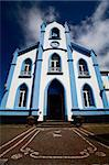 Typical church on the Terceira Island - Azores, Portugal Stock Photo - Royalty-Free, Artist: CaptureLight                  , Code: 400-05746022
