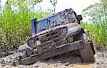 Off road car dirt with a lot off mud Stock Photo - Royalty-Free, Artist: marphotography                , Code: 400-05746285