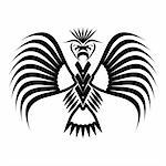 Eagle symbols and tattoo, vector illustration. Stock Photo - Royalty-Free, Artist: aarrows                       , Code: 400-05746398