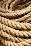 Interleaved linen ropes used for grinder Stock Photo - Royalty-Free, Artist: gorgev                        , Code: 400-05747570