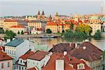 View of Prague Old Town at sunset Stock Photo - Royalty-Free, Artist: TatyanaSavvateeva             , Code: 400-05747621