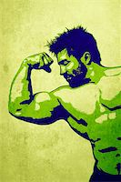 An illustration of a handsome young muscular sports man Stock Photo - Royalty-Freenull, Code: 400-05748557