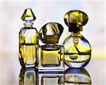 assortment of perfume bottles , close up Stock Photo - Royalty-Free, Artist: svetlanna                     , Code: 400-05748704