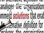 Business solution Stock Photo - Royalty-Free, Artist: razihusin                     , Code: 400-05749261