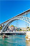 Dom Luis I Bridge, Porto, Portugal Stock Photo - Royalty-Free, Artist: phbcz                         , Code: 400-05749861