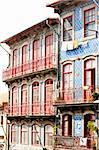 house with azulejos (tiles), Porto, Portugal Stock Photo - Royalty-Free, Artist: phbcz                         , Code: 400-05749869
