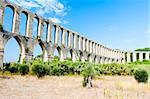 Pegoes Aqueduct, Estremadura, Portugal Stock Photo - Royalty-Free, Artist: phbcz                         , Code: 400-05749873