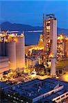 Cement Plant,Concrete or cement factory, heavy industry or construction industry. Stock Photo - Royalty-Free, Artist: cozyta                        , Code: 400-05752747