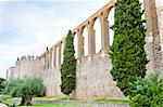 Aqueduct of Serpa, Alentejo, Portugal Stock Photo - Royalty-Free, Artist: phbcz                         , Code: 400-05753419