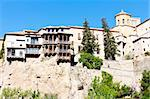 hanging houses, Cuenca, Castile-La Mancha, Spain Stock Photo - Royalty-Free, Artist: phbcz                         , Code: 400-05753431