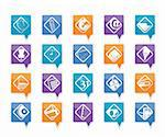 Business and Office tools icons vector icon set 2 Stock Photo - Royalty-Free, Artist: stoyanh                       , Code: 400-05754496