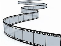 film strip - 3d render of film strip on white background Stock Photo - Royalty-Freenull, Code: 400-05754834