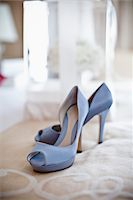 Blue Shoes Stock Photo - Premium Rights-Managednull, Code: 700-05756380