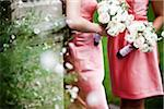 Bridesmaids Holding Bouquets Stock Photo - Premium Rights-Managed, Artist: Ikonica, Code: 700-05756402