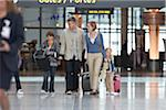 Family in Airport Stock Photo - Premium Rights-Managed, Artist: Michael Mahovlich, Code: 700-05756437