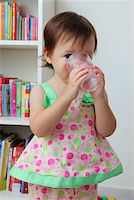 Young girl drinking water Stock Photo - Premium Rights-Managednull, Code: 849-05756978