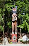 traditional First Nation totem pole Stock Photo - Premium Royalty-Free, Artist: Stellar Stock, Code: 6106-05758960