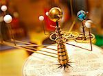 Planets orbit the sun on an Orrery. Stock Photo - Premium Royalty-Free, Artist: Minden Pictures, Code: 6106-05759278