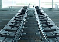 Seats in airport lounge Stock Photo - Premium Royalty-Freenull, Code: 695-05762903
