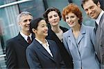 Group of business executives, portrait Stock Photo - Premium Royalty-Freenull, Code: 695-05764593