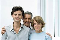 Father with adult son and teen son, portrait Stock Photo - Premium Royalty-Freenull, Code: 695-05768366