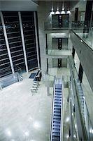 Empty lobby at night Stock Photo - Premium Royalty-Freenull, Code: 695-05771811
