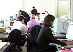 People working in office Stock Photo - Premium Royalty-Freenull, Code: 695-05773724