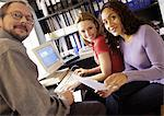 People in office, smiling, portrait Stock Photo - Premium Royalty-Free, Artist: Transtock, Code: 695-05773891
