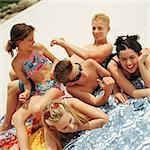 Young people on the beach Stock Photo - Premium Royalty-Free, Artist: F1Online, Code: 695-05774091