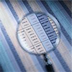 Magnifying glass over financial spreadsheet Stock Photo - Premium Royalty-Free, Artist: Beyond Fotomedia, Code: 695-05776590
