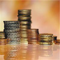 savings - Stacks of coins Stock Photo - Premium Royalty-Freenull, Code: 695-05776595