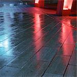 Light reflected on wet flagstones Stock Photo - Premium Royalty-Freenull, Code: 695-05777086