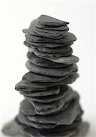 slate - Stacked stones Stock Photo - Premium Royalty-Freenull, Code: 695-05778203
