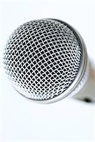 Microphone grille, extreme close-up Stock Photo - Premium Royalty-Free, A