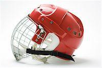 sports and hockey - Hockey helmet, side view Stock Photo - Premium Royalty-Freenull, Code: 695-05779532
