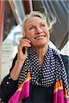 Woman on Cell Phone Stock Photo - Premium Rights-Managed, Artist: Strauss/Curtis, Code: 700-05780983