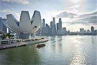 ArtScience Museum at Marina Bay Sands, Singapore Stock Photo - Premium Rights-Managednull, Code: 700-05781028