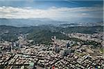 View of Taipei from Taipei 101, Xinyi District, Taipei, Taiwan Stock Photo - Premium Rights-Managed, Artist: Tomasz Rossa, Code: 700-05781052