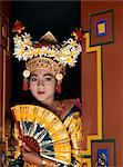 Young girl in Legong dancer costume, Bali, Indonesia, Southeast Asia, Asia Stock Photo - Premium Rights-Managed, Artist: Robert Harding Images, Code: 841-05781119