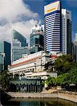 The Fullerton Hotel on the banks of Singapore River, Singapore, Southeast Asia, Asia Stock Photo - Premium Rights-Managed, Artist: Robert Harding Images, Code: 841-05781145