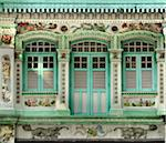 Facades of shophouses in Kichener Road, Singapore, Southeast Asia, Asia Stock Photo - Premium Rights-Managed, Artist: Robert Harding Images, Code: 841-05781151