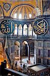 Byzantine architecture of Aya Sofya (Hagia Sophia), constructed as a church in the 6th century by Emperor Justinian, a mosque for years, now a museum, UNESCO World Heritage Site, Istanbul, Turkey, Europe Stock Photo - Premium Rights-Managed, Artist: Robert Harding Images, Code: 841-05781574